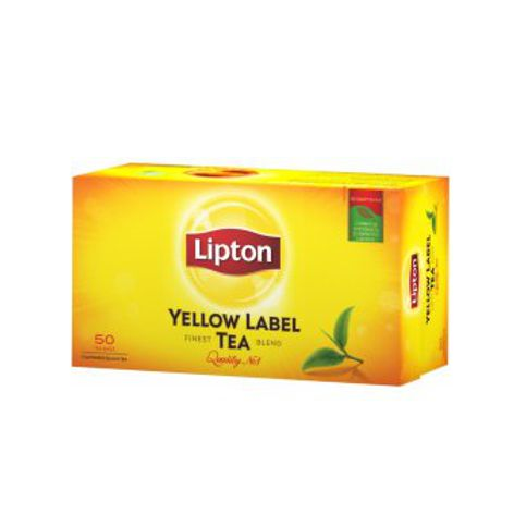 Čaj LIPTON ČAJ YELLOW LABEL 50X2 G