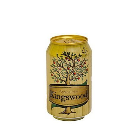 Cider KINGSWOOD CIDER 1X330 ML PLECH