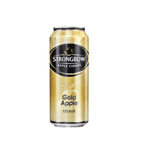 Cider STRONGBOW CIDER GOLD 4X400 ML PLECH