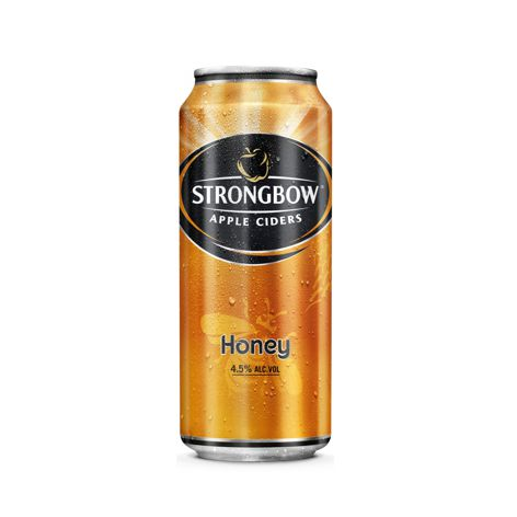 Cider STRONGBOW CIDER HONEY 4X400 ML PLECH