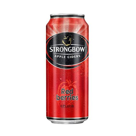 Cider STRONGBOW CIDER RED 4X400 ML PLECH