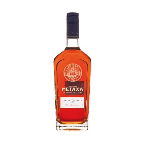 Cognac, Brandy METAXA 12* 40% 1X700 ML METAXA 12* 40% 1X700 ML