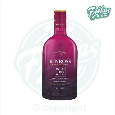 Gin GIN KINROSS WILDBERRY 40% 700ml