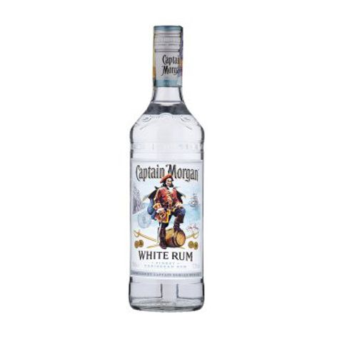Rum, Cachaca CAPTAIN MORGAN WHITE 37,5% 1X700 ML