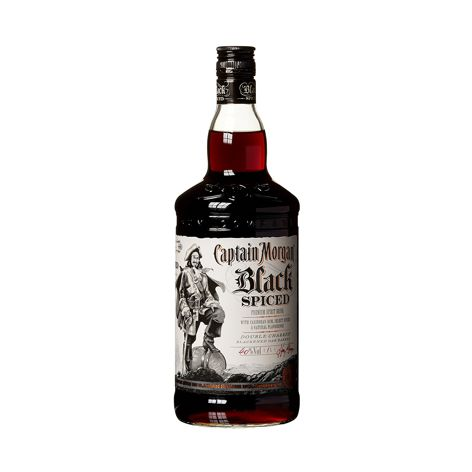 Rum, Cachaca CAPTAIN MORGAN BLACK SPICED 40% 1X700 ML