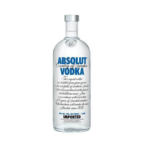 Vodka ABSOLUT VODKA 40% 1X1 L ABSOLUT VODKA 40% 1X1 L