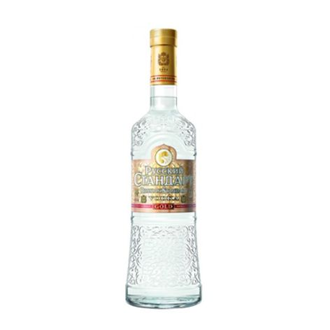 Vodka RUSSIAN STANDARD GOLD VODKA 40% 1X1 L