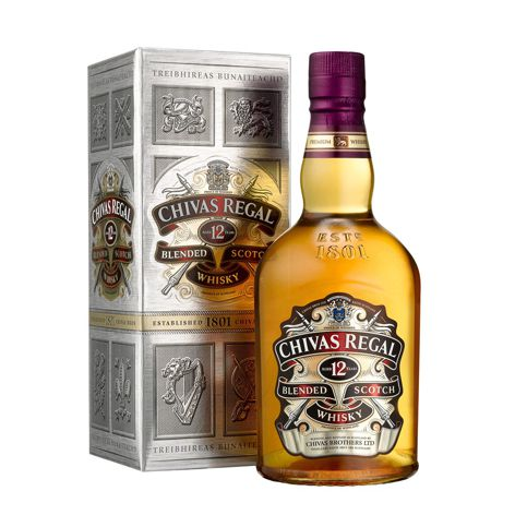 Whisky CHIVAS REGAL WHISKY 40% 12 Y.O. 1X700 ML