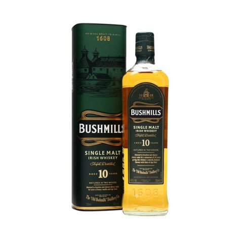 Whisky BUSHMILLS IRISH WHISKY 10 Y.O. 40% 1X700 ML