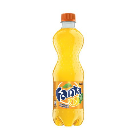 Limonády FANTA ORANGE LIMONÁDA 12X500 ML PET