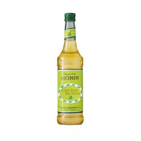 Sirupy, energ.nápoje SIRUP MONIN LIME JUICE 700ml