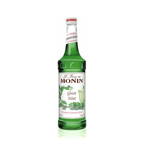 Sirupy MONIN SIRUP GREEN MINT 1X700 ML SKLO
