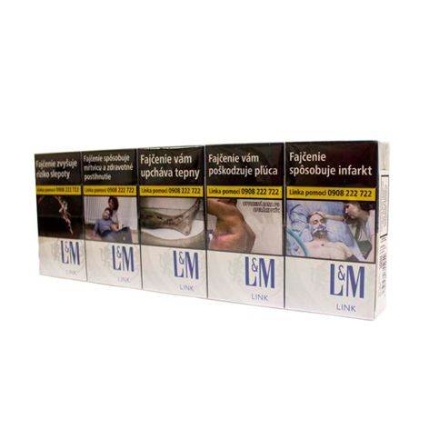Cigarety CIG.L&M 20 SSL BOX LINK BLUE
