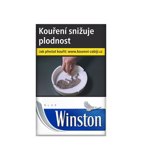 Cigarety CIG.WINSTON 20 SSL BLUE BOX